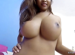 Busty naturals on Thai unstinted in the matter of bareback sex video