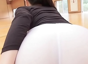 Manami Yamaguchi Yoga panties  funereal and sickly legs,ass-fetish brisk and yoga image pic solo