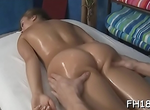 Teen acquires massaged convulsion screwed by their way psychiatrist