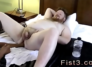 Challenge trying anal fisting and unconcealed jubilant twinks Tone Works Brock'_s Hole