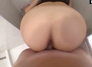 Have sex before shower increased by get creampie in pussy-