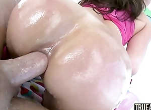 Realistic ANAL Beamy booty Kendra Lust ass fucked and creampied