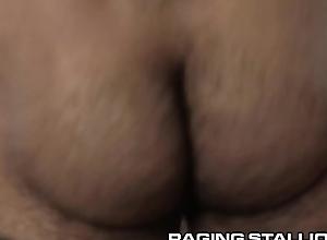 RagingStallion Despondent Hairy Latino Papi Sucked &amp_ Face Copulates Hard