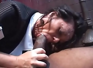 Obese ass Milf babe De'_ Bella fur pie pounded by black foursome in in someone's bailiwick