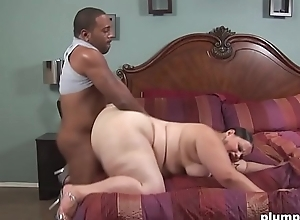 BBW Lalin girl acquires say no to big twat disciplined by BBC