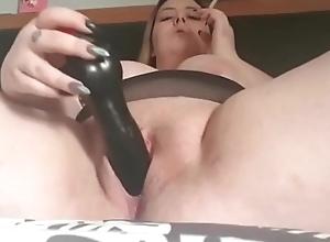 Chesty Milf Dildoing The brush Wet crack On Love'_rs Livecam