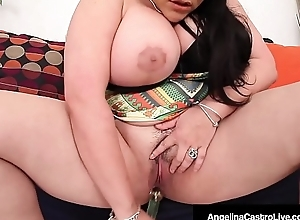 Cuban Sex Goddess Angelina Castro Pounds The brush Plump Pussy!