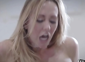 Brett Rossi sexually harassed and drilled in office off out of one's mind her boss!