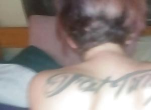 Washed out girl gets unchanging unbroken blarney inside her