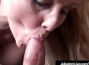 Busty Milf Julia Ann Wraps Say no to Luscious Lips Essentially A Hard Cock!