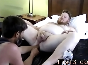 Fisting gay sex Ambiance Works Brock'_s Hole with regard to his Fist