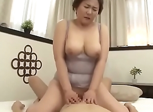 Incomparable Dam Japanese Fucked unconnected with son
