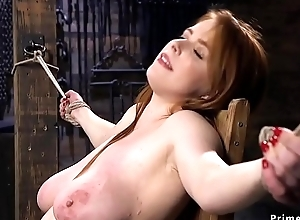 Huge soul babe receives dp dicks in the first place a interview