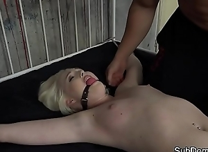 Slave toddler hardfucked and groped