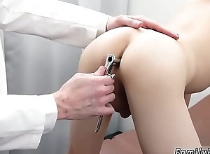 Gay cadger fucks boy up the bed first period Doctor'_s Nomination Visit