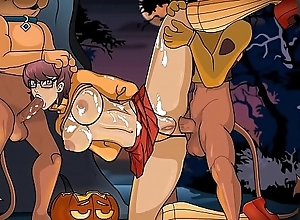 Scooby-Doo - Velma Dickley In A Cack-handed Sap Bushwhack by CreamBee