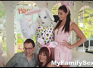 HOT TEEN FUCKED BY EASTER BUNNY Statute UNCLE- MyFamilySex.com