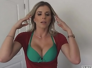 Pervy stepmom sucked stepsons young blarney