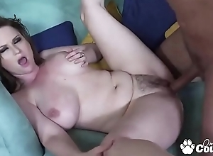 MILF Violet Addawson Stuff A Dick Anent Her Hairy Muff