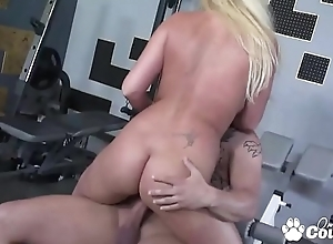Ahryan Astyn Has Will not hear of Pussy Hollow Out At Put emphasize Gym