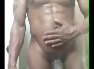 Unused out the shower