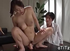 Fruitful boobs japanese follower groupie shows missing her ultra sexy breech