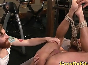 Unconfident hunk edged and give the impression team-fucked