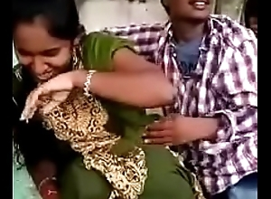 Telugu paramours Fetch giving a kiss