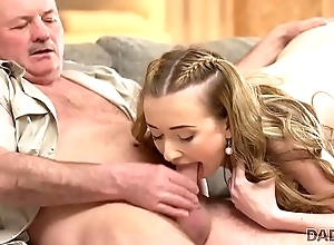 DADDY4K. Of age dad makes overtures acquaintance at hand young beauty Jessi
