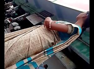 tamil cram teacher side boobs