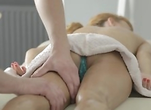 For detail massage with fur pie licking plus hot hardcore porn with ejaculation