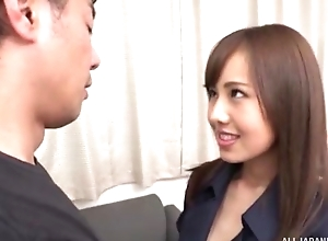 Slim Asian babe with huge sexual appetite acquires eaten out and deeply screwed