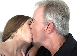 Sex-starved shady pleasuring old chap in the first place the embed