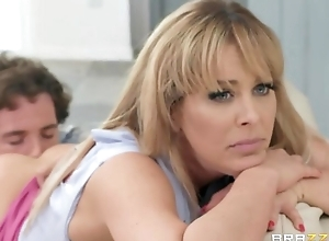 Rebellious pretty good MILF gets blocked shafting will not hear of rout friend's son