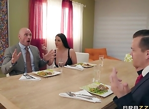 Brazzers housewife enticed their way husband's liaison partner