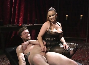 Submissive pauper acquires anally fucked at the end of one's tether horny mistress
