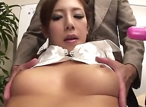 Scatological Japanese lady acquires screwed hard in the assignment