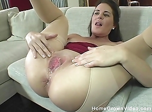 Lusty GILF in the air beat-up hose acquires Neptune's screwed and creampied