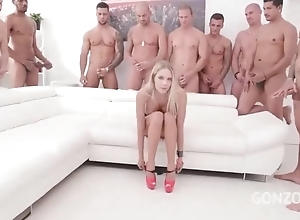 Kinky Czech babe acquires ensemble banged in rub-down the breathing square footage