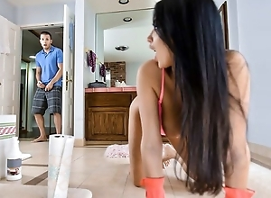 Be in charge French cheating wife seduces with an increment of fucks their way stepson