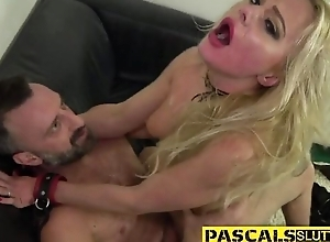 Nasty blonde chick relating to glasses acquires fucked completely hard