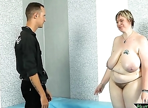 Bigtits SSBBW drilled unconnected with sweltering referee