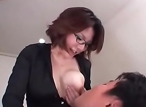 Adult Breastfeeding A Milky Boss added to a peckish Worker